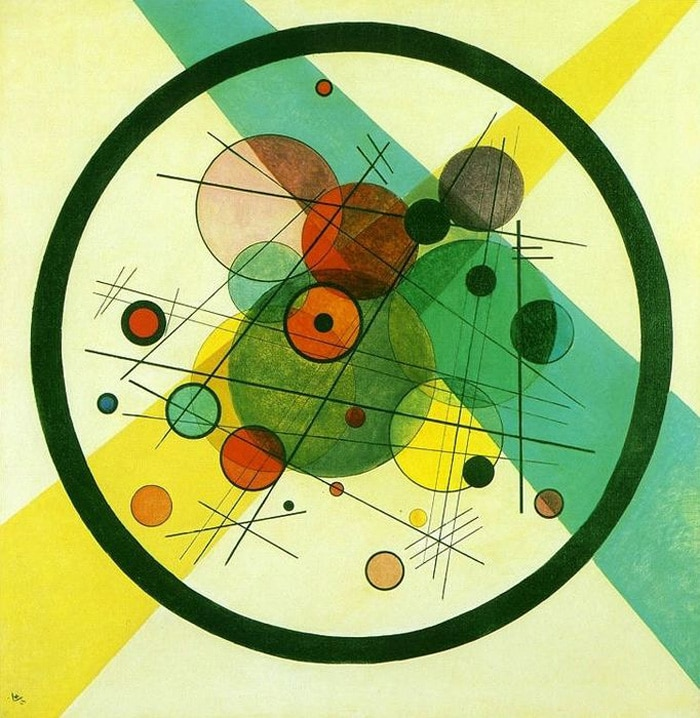 Vassily Kandinsky - Circles in a Circle, 1923