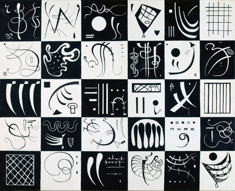 Vassily Kandinsky - Thirty, 1937