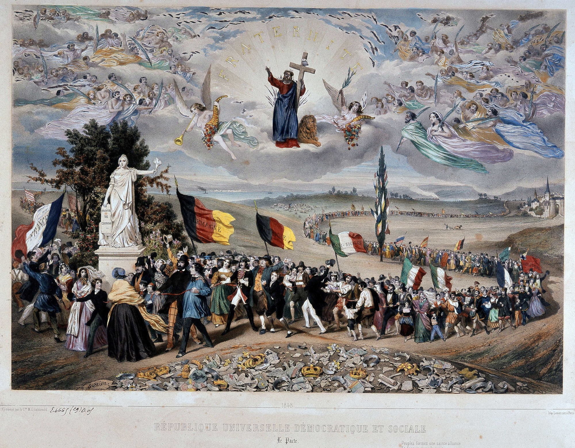 1848, le printemps des peuples (Selva/Leemage)