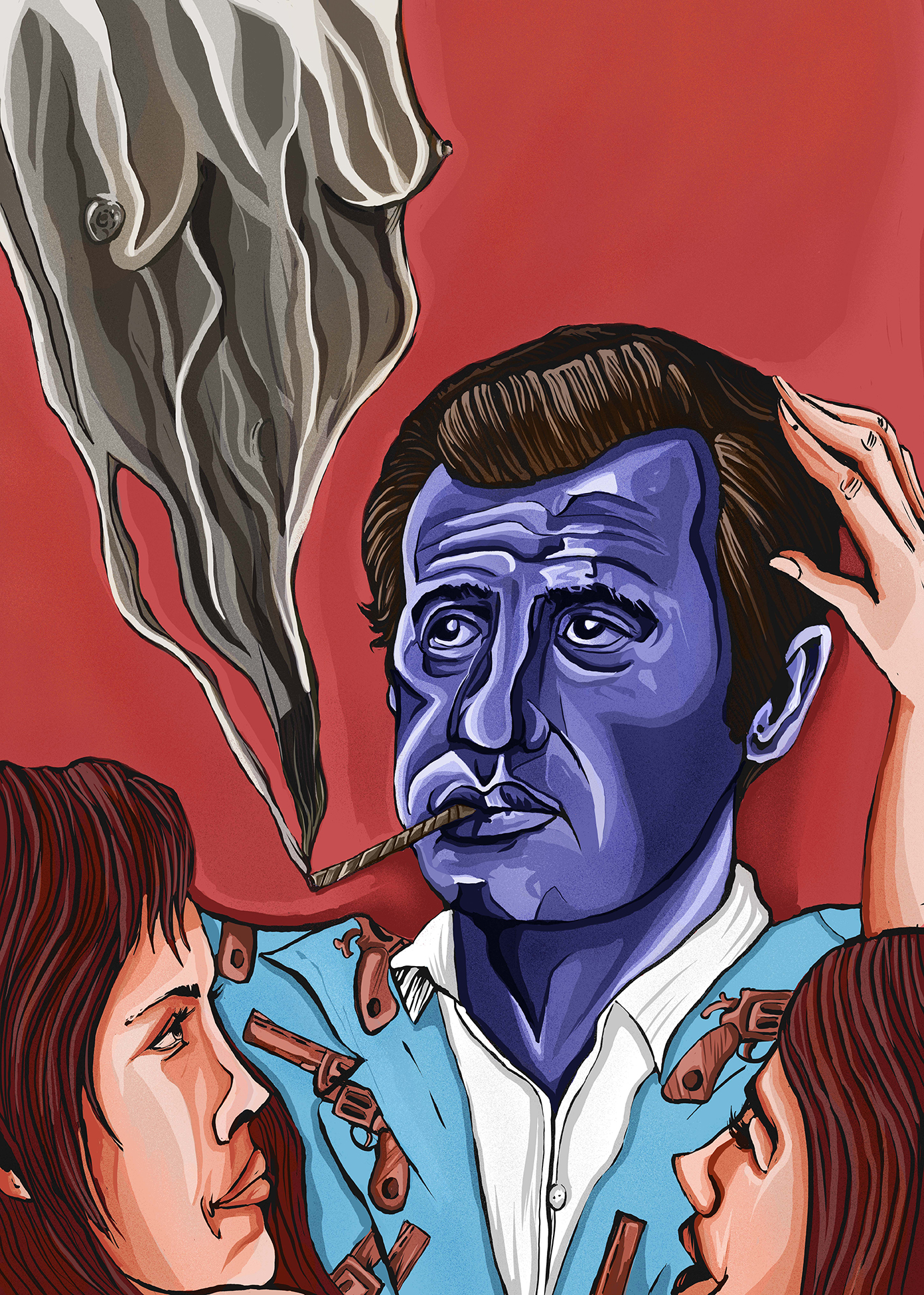 Belmondo et la « culture du viol » - Illustration David Amblard, 2019